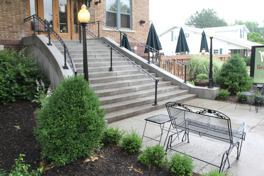 MATTINGLY CONCRETE INC STEPS