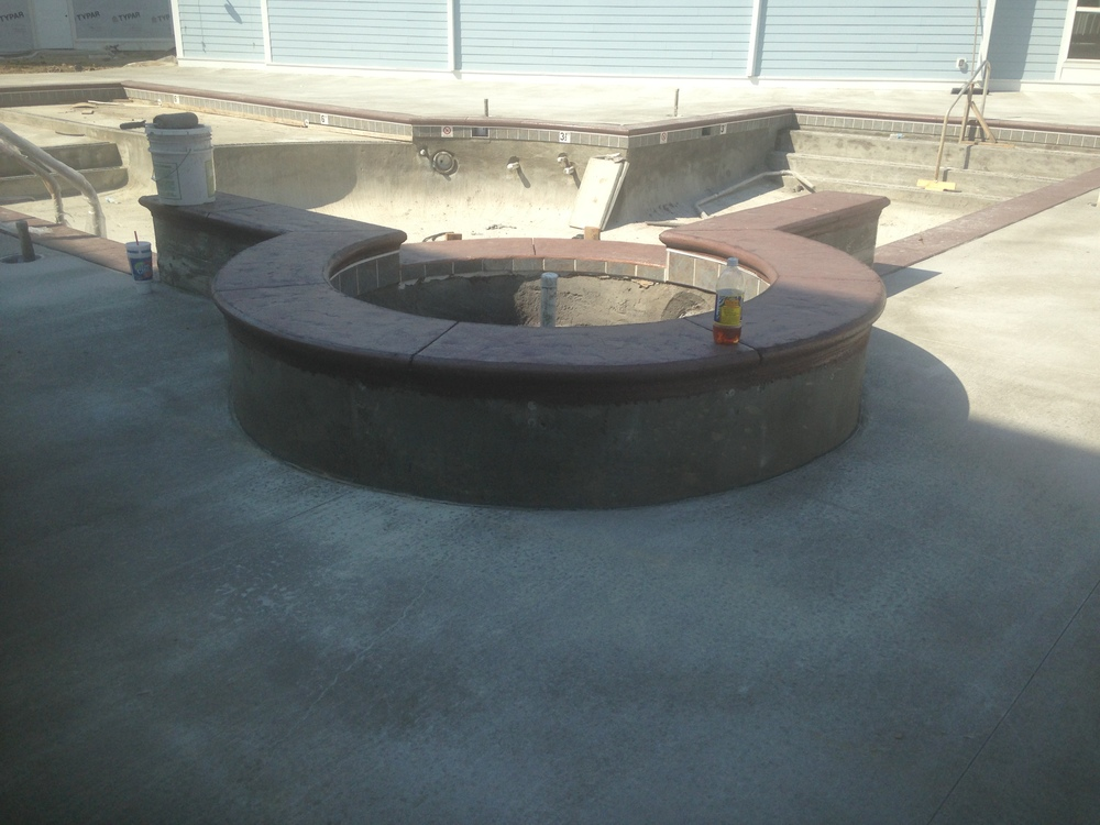 MATTINGLY CONCRETE INC POOL DECK REPAIR