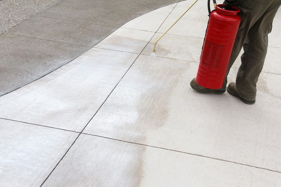Re-sealing existing concrete can greatly impact the durability and longevity of the concrete in a positive way. Call mattingly concrete today!