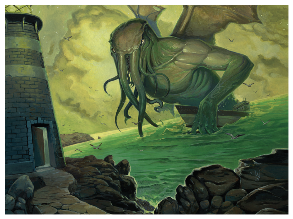 Cthulhu Tide Call of Cthulhu HP Lovecraft Green