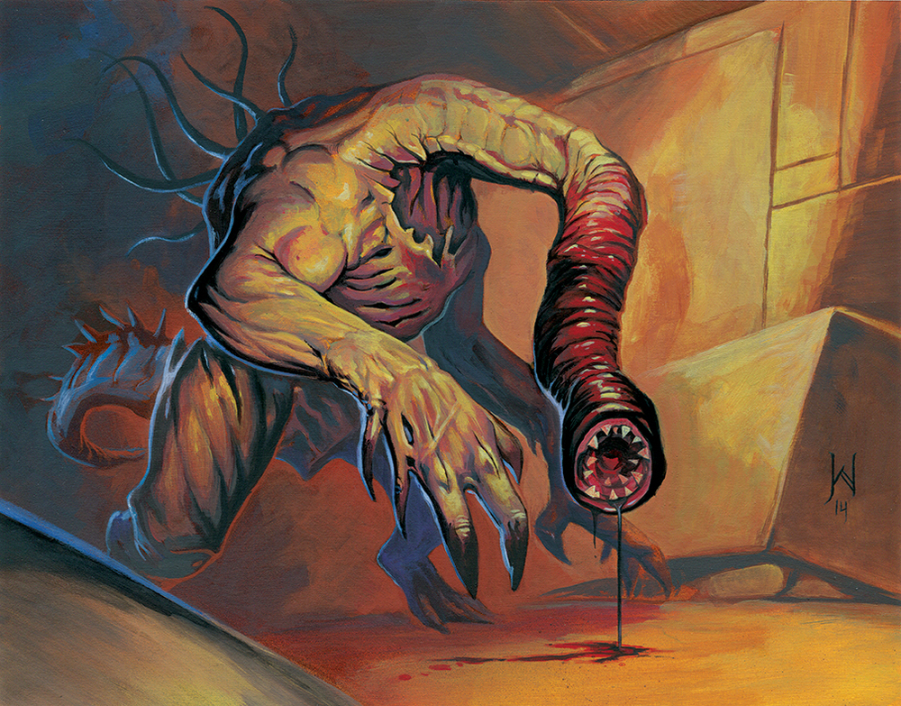 The Bloody Tonge or Crawling Chaos, as he was know - Nyarlathotep