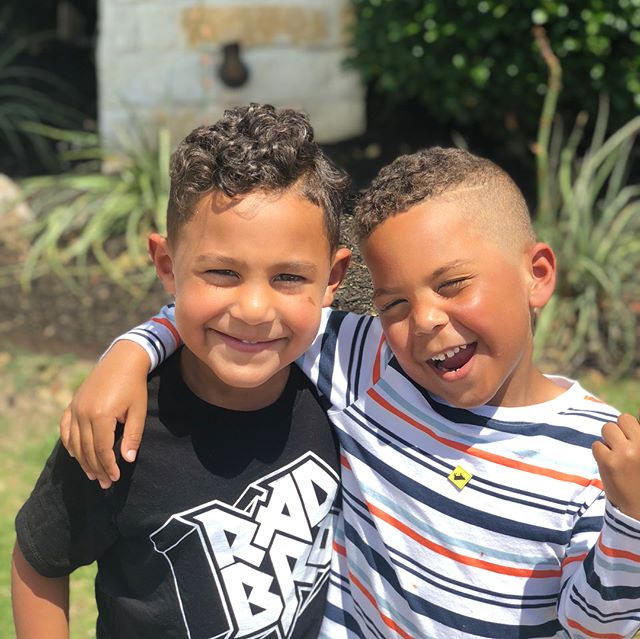 Me and my best bud Judah! Swipe left! #sunday #wakandaforever