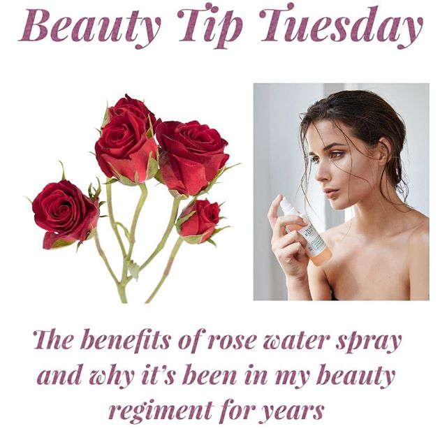 Why you should start to try rose water spray daily 🥀Benefits of rose spray 🌹 *Toner For Dry Skin *Treats Acne *Relaxes and de puff tired eyes *Natural Makeup Remover *Helps with redness *Anti Aging *Tightens Pores *Moisturizing *Helps with eczema *Treats Headaches