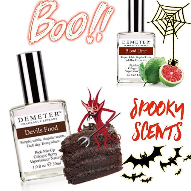 👺Finish off your costume with these halloweeny scents👻