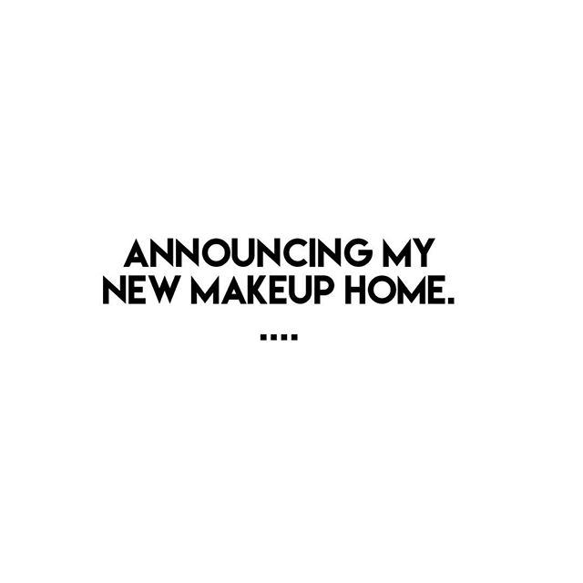 🙌🏼👏🏼 Cant wait to Beautify my clients in a new space