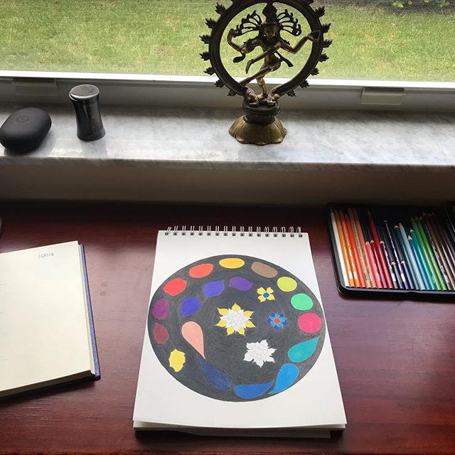 Faith is knowing that it is already done.  Wisdom is knowing that it's your own resistance that keeps you from seeing it.  What I do, for myself and for my clients, is release resistance to uncover the deeper Truth. #release #wisdom #mandala #faith