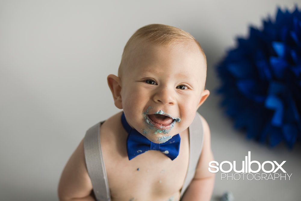 Soulbox Photography Children's Photography Cake Smash