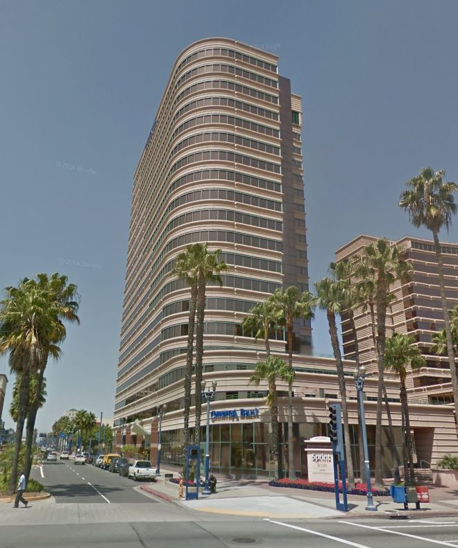 5. LONG BEACH: Shoreline Square Tower, 301 E. Ocean Blvd., Long Beach, CA 90802 - $101.7 million