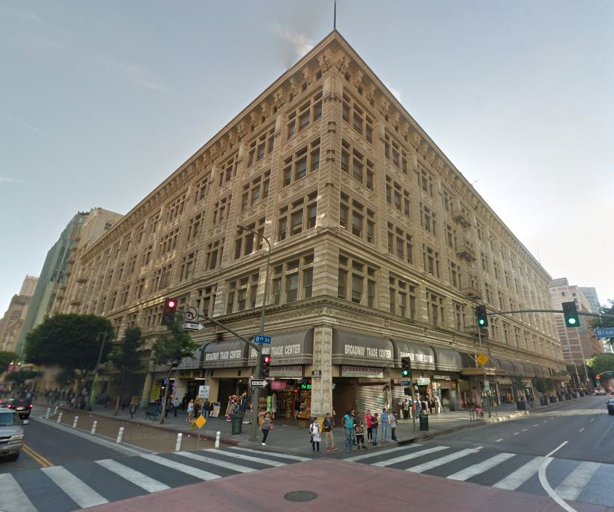 6. DOWNTOWN: Broadway Trade Center - 801-831 S. Broadway, Los Angeles, CA 90014 - $125 million