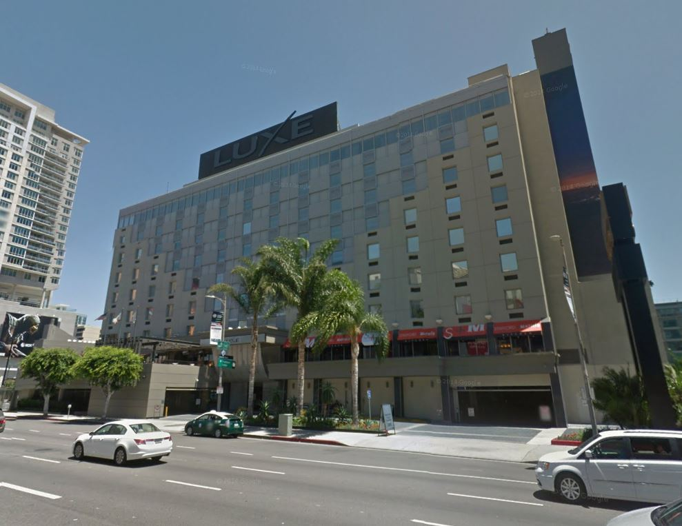8. DOWNTOWN: Luxe City Center Hotel - 1020 S. Figueroa St., Los Angeles, CA 90015 - $100.7 million