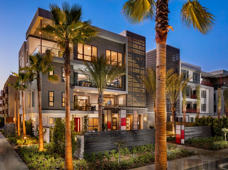 The Los Angeles district of Playa Vista is home to Facebook and Microsoft offices, and a growing number of residents seeking an urban lifestyle.