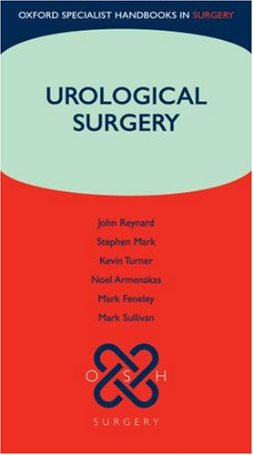 Urological Surgery - Oxford Specialist Handbook co-authored by Mr Kevin Turner