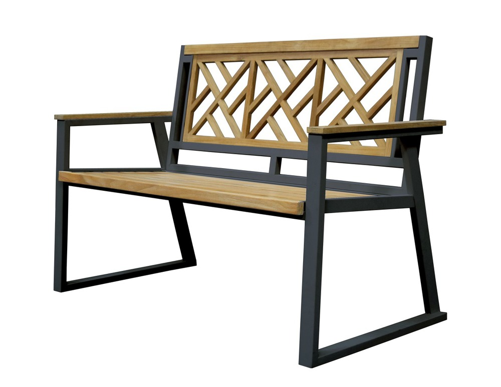 CHIPPENDALE- 2 SEATER BENCH