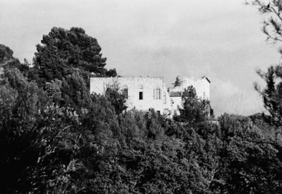 View of the Chateau Noir.