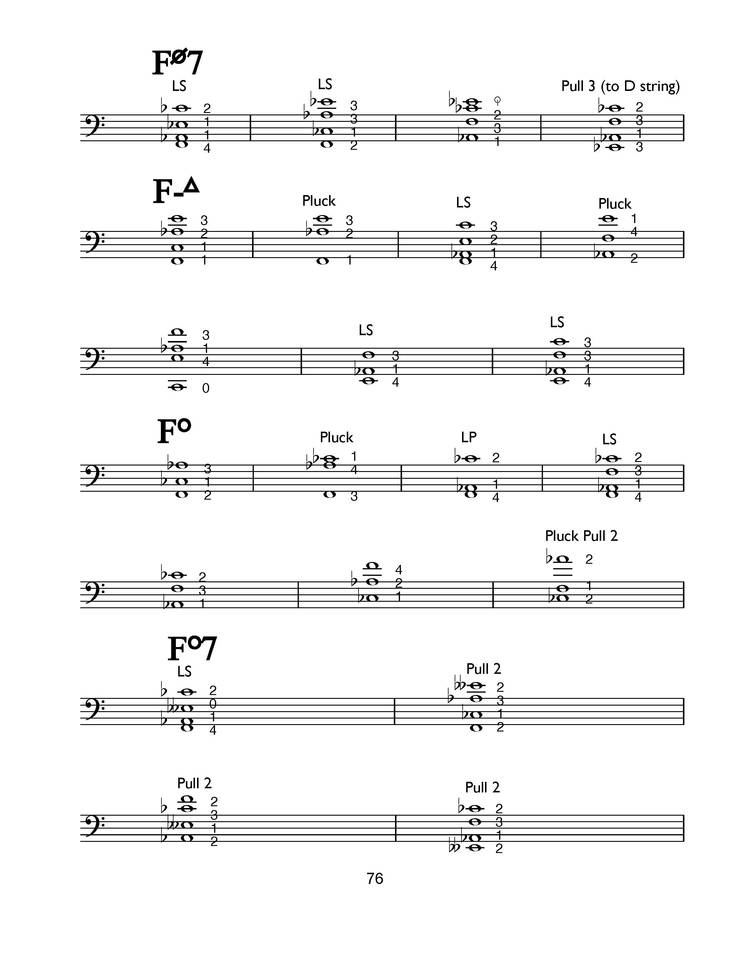 Cello Chords — Bryan Charles Wilson