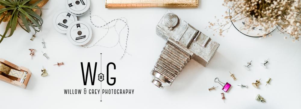 My photography business header (willowandgreyphoto.com).