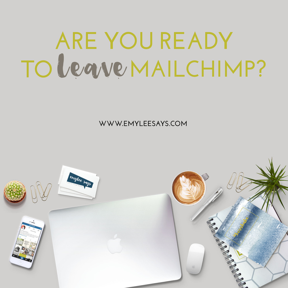 Although I love MailChimp there are many reasons that got me to make the daunting task of switching email providers. See here if you're ready to do the same.