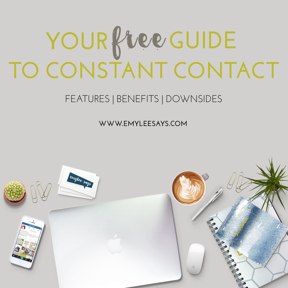 Learn the in's and out's of Constant Contact - the email provider I switched to after leaving MailChimp.