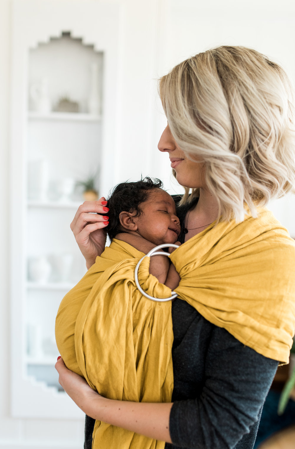Emylee Says | Wild Bird Ring Sling
