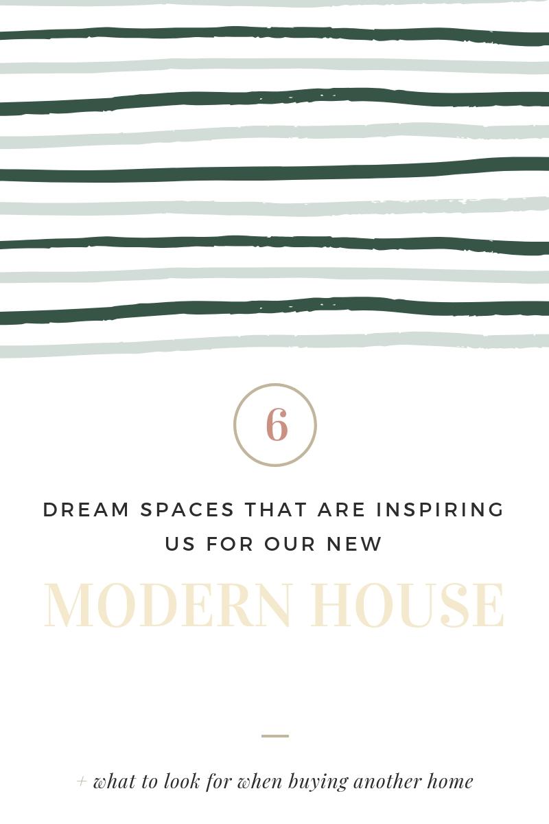 Modern House Inspiration Mood Board