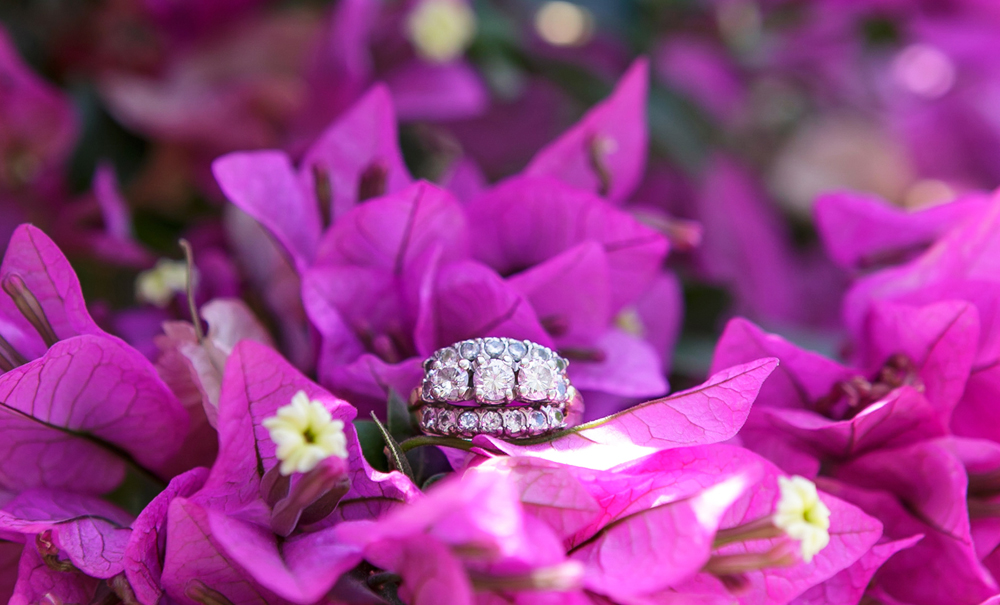 My ring-- an heirloom from adam's maternal grandmother •PHOTO BY MONICA WANG