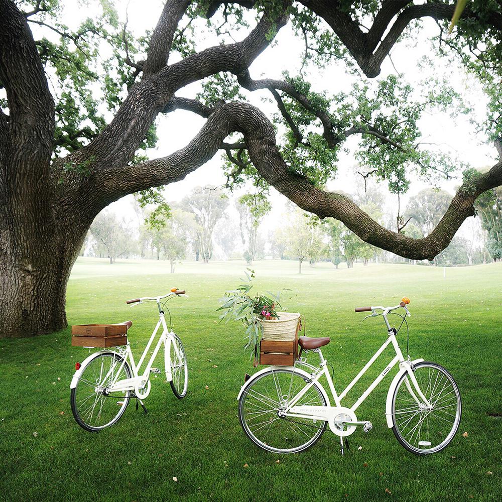 Linus bikes for the Picnic & Pedal program at the Ojai Valley Inn & Spa.