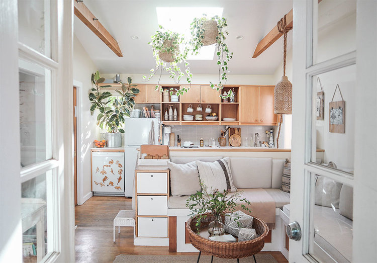 Small Space Skylight — The Tiny Canal Cottage
