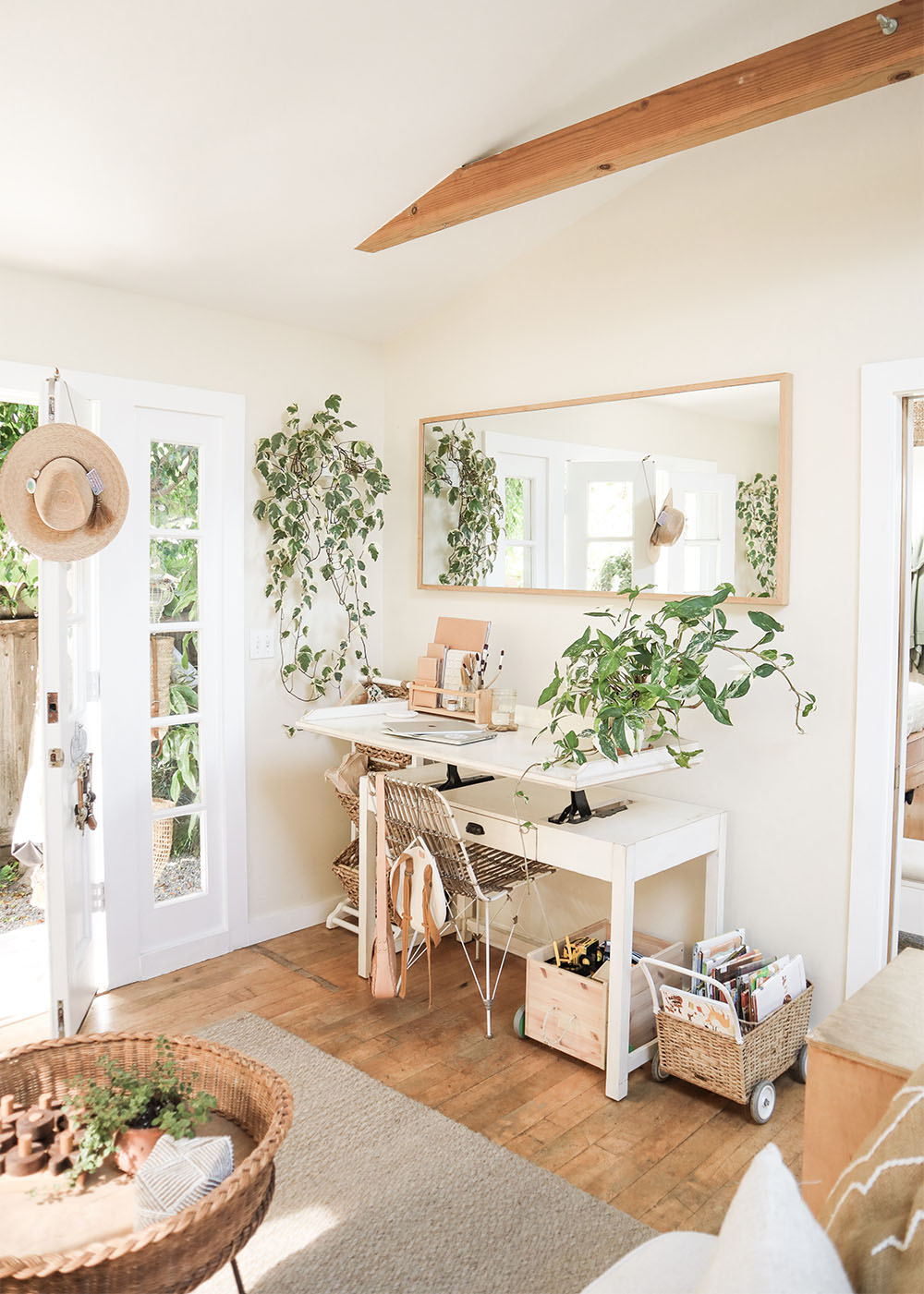 Small Home-Office Modifications — The Tiny Canal Cottage