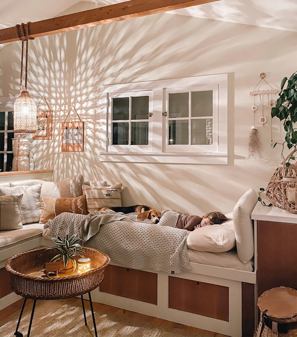 Picture of: Preschooler Sofa Bed Updates The Tiny Canal Cottage