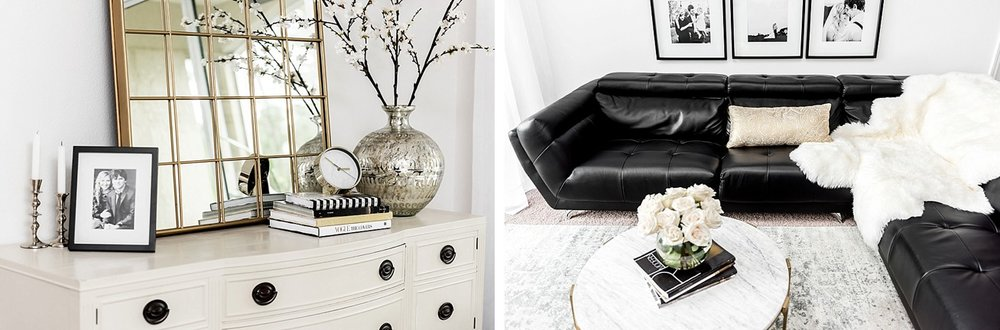 classic modern home inspo