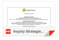 Inquiry Strategies Planning