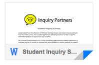 Student Inquiry Surveys