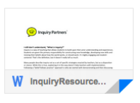Inquiry Resources