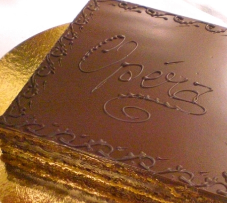 Opera cake - the most decadent and scrumptious of all desserts: http://www.epicurious.com/recipes/food/views/opera-cake-230481