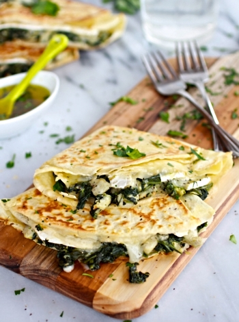 http://www.halfbakedharvest.com/spinach-artichoke-and-brie-crepes-with-sweet-honey-sauce/