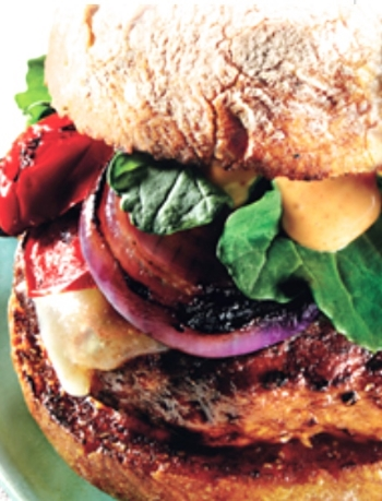 Recipe @http://www.epicurious.com/recipes/food/views/grilled-turkey-burgers-with-cheddar-and-smoky-aioli-354289
