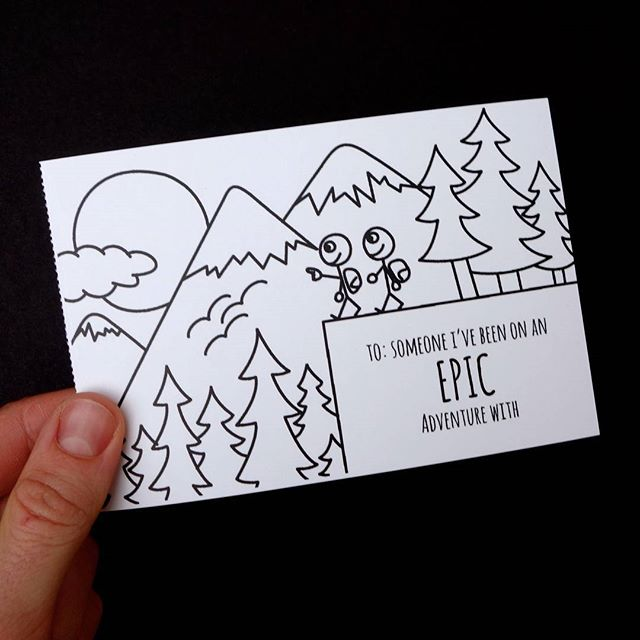 Immortalize your last epic adventure... with a postcard! #ProjectPostcard