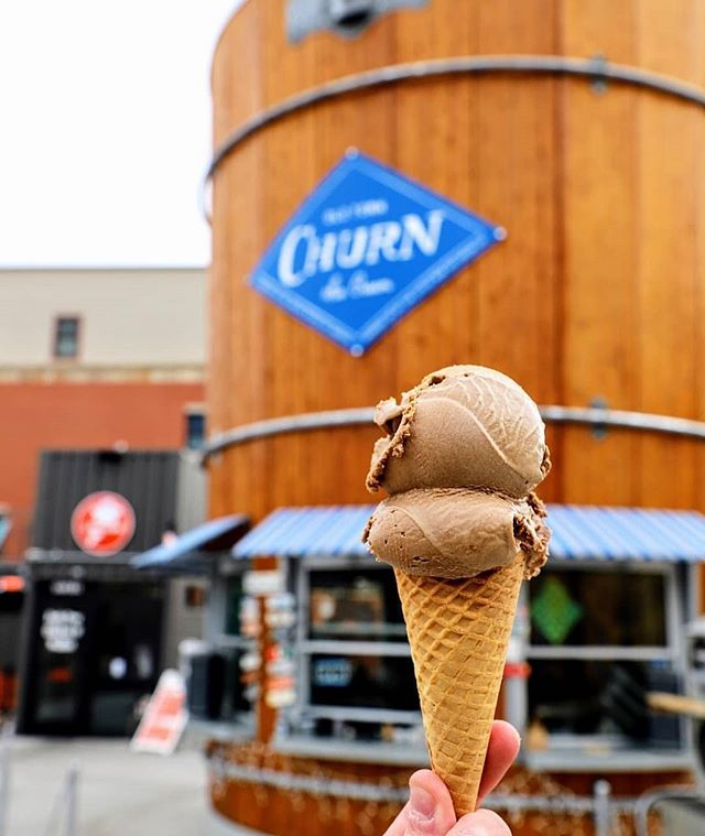 As a big fan of Little Man Ice Cream in Denver I got to say I was stoked when these guys got to Fort Collins! Who's tried them yet? . Photo by @oldtownchurn . . . . .