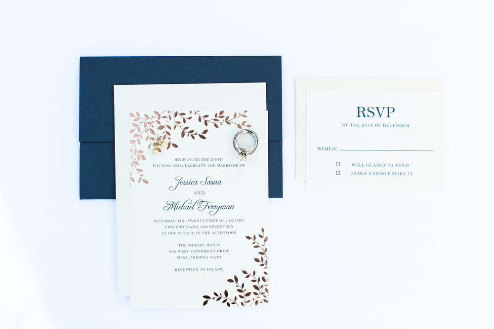 Postage - No one ever thinks about postage when you are planning the wedding. Postage is $0.49 as of today and really that adds up when you are sending over 150 invitations