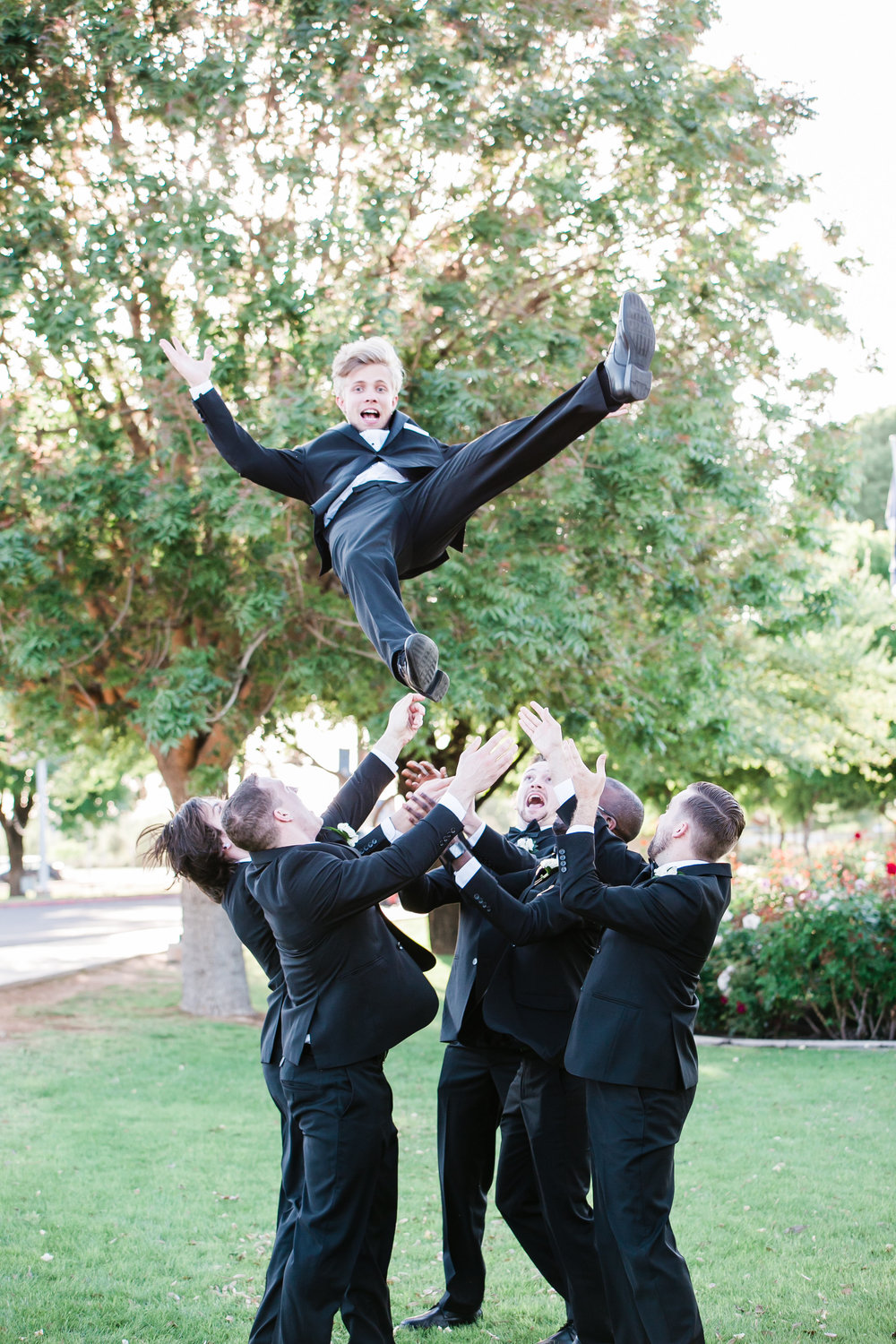 Top 5 Groomsmen duties: -