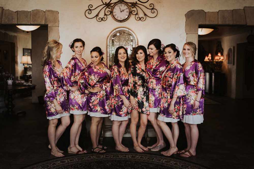 Keep everyone on Schedule  - Help get those gals to their hair, make up, nails appointments on the big day