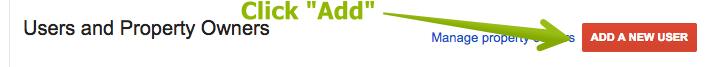 "B. Click ""Add A New User"""