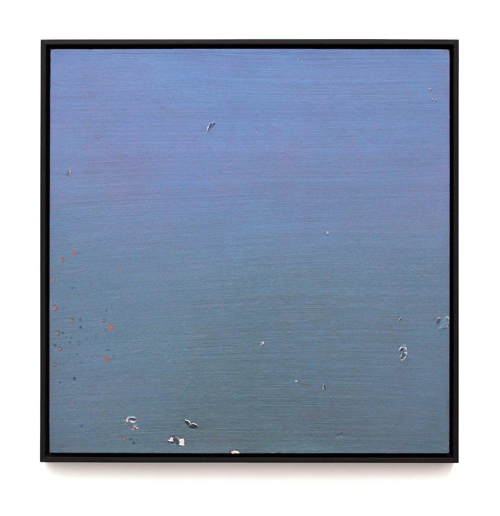 "Air Tears (Untitled 7)  Acrylic on Archival Foam Board 31 x 30.5"" 2011  INQUIRE"
