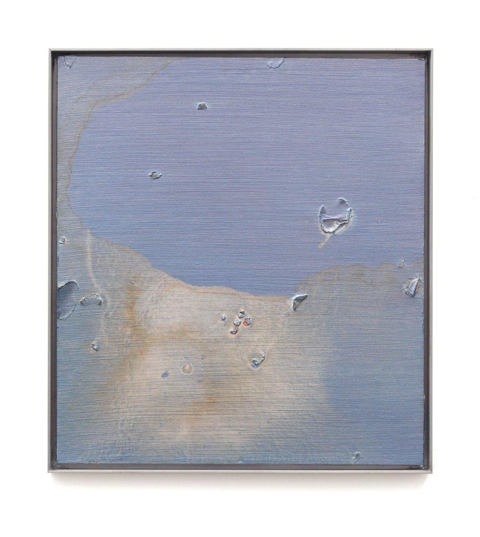 "Air Tears (Untitled 9)  Acrylic on Archival Foam Board 20 x 18"" 2011  INQUIRE"