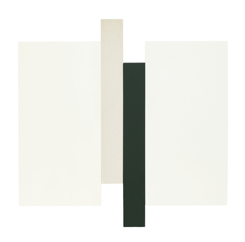 ARUPA - WHITE, GREEN, CANVAS