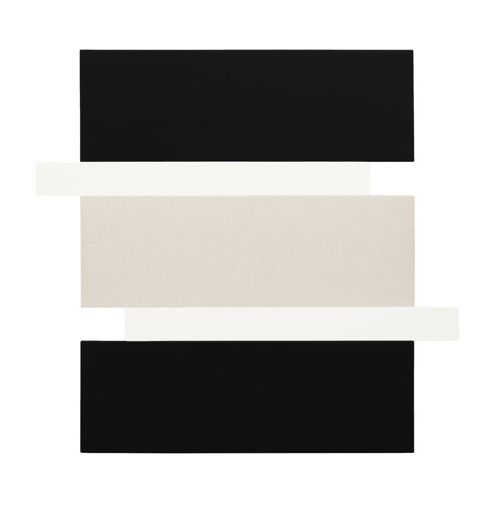 STACK - BLACK, WHITE, CANVAS