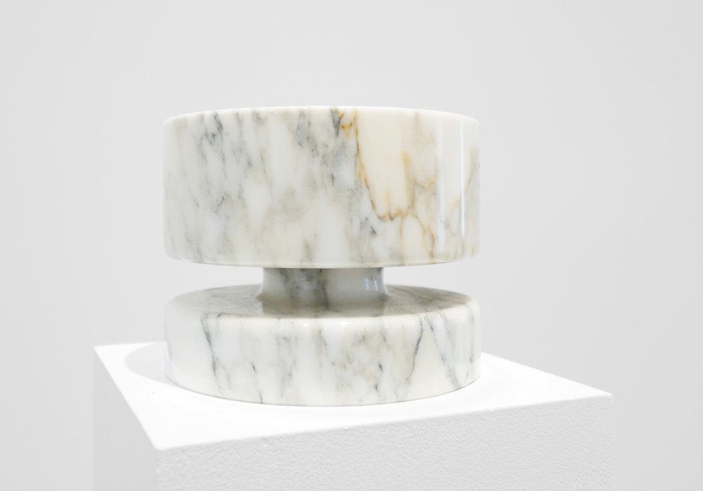 Mangiarotti Marble Bowl for Knoll, c. 1960s, 6 x 8 x 8%22.jpg