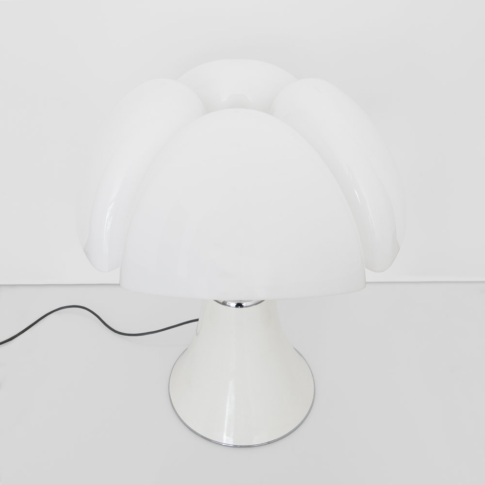 Gae Aulenti, Pipistrello Table Lamp Designed For Martinelli Luce, c. 1960s, Methacrylate, metal, 28 H x 21 Diameter inches_2.jpg