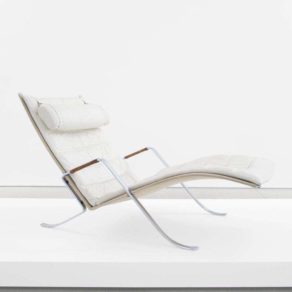 joergen kastholm & preben fabricius  'grasshopper' lounge chair  1968 ...