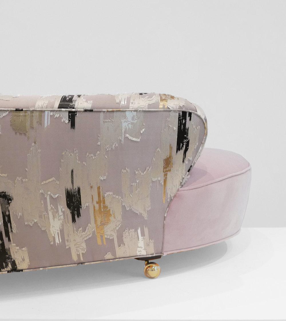 Vladimir Kagan, Serpentine Sofa, c. 1950, Dedar Milano Velvet, 29.5 H x 112 W x 63 D inches_7.jpg